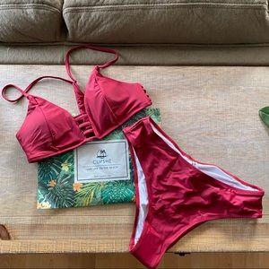 Cupshe Swim - Cupshe Strappy Bikini